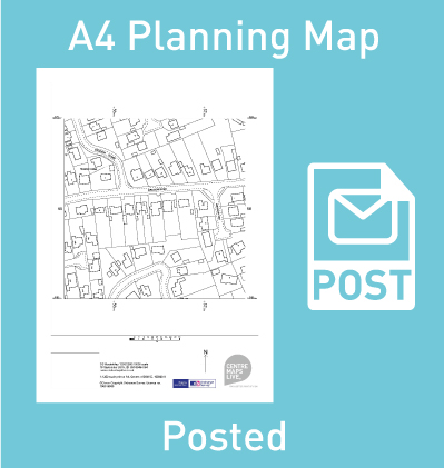 Posted Planning Map
